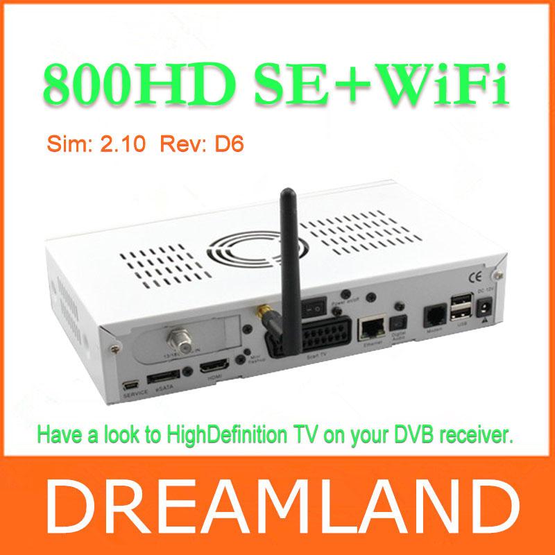 Satellite tv receiver Dm800hd se BCM4505 turner sim2.10 card DM800se Linux Operating System Enigma 2(China (Mainland))