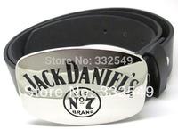 Shinny Jack Daniels Old No 2 Brand belt  Buckle with Free belt , Free shipping worldwide