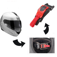 5x Plastic Motorcycle Bicycle Helmet Buckle  Clip Chin Strap Quick Release Buckle