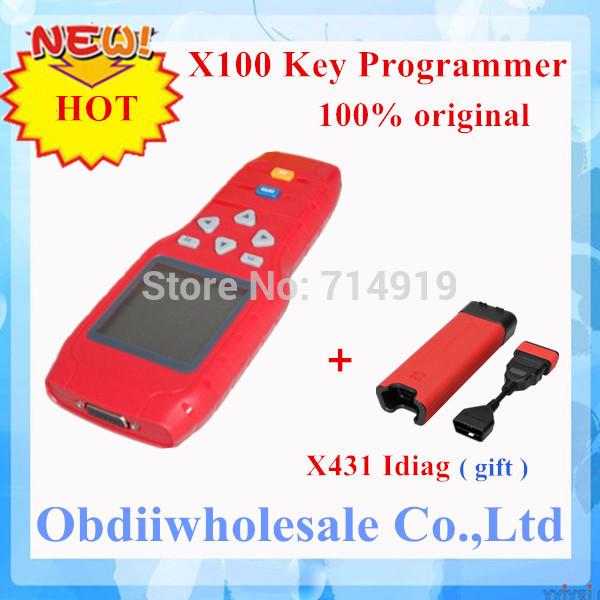 2014 neue Ankunft professional x100 programmierer x-100 stecker auto schlüssel programmierer dhl versandkostenfrei Verkauf von neupreis