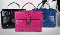 Vintage Bags Fashion Women Handbag Genuine Leather Elegant One Shoulder Cross-Body Bag Women's Bags Small Messenger Bag totes