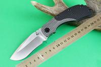 2014 NEW STRIDER Pocket Folding Knife D2 Sanding  Blade G10 + TC4 Titanium Alloy High-grade Knives Best gift
