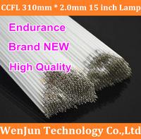 15PCS Free shipping 15' 4:3 lcd screen LCD CCFL lamp CCFL backlight tube 310mm*2.0mm 15 inch screen CCFL light