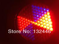 10PCS/LOT Fast shipping RGB Led Flat Par Light DMX 512 Professional Stage Lighting effect 127 RGB LED Effect Light
