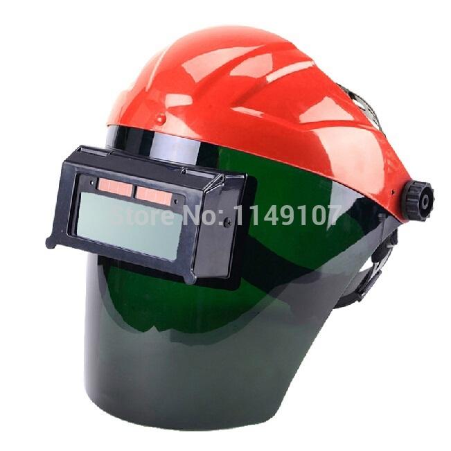 New Fashion Solar Auto Darkening Welding Helmet Welder's Helmet Semi-open Solar Face Shield Welding Mask Solder Mask Capacete(China (Mainland))
