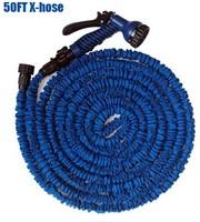 50FT Garden Hose water pipes with spray gun expandable flexible hose car hose Garden tools with sprayer