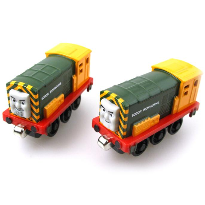 T0104 Magnetic Twins Diecast THOMAS and friend Arry and Bert The Tank Engine take along train metal children kids toy gift(China (Mainland))