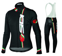 New Arrival! 2014 SIDI Cycling Jersey Long Sleeve and bicicleta bib Pants/ ciclismo clothing Sportswear SZ44