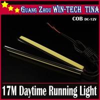 Free shipping 4pcs/lot 17cm 18W High Power COB Bulb Car LED Daytime Running Light DRL Fog Driving Lamp Waterproof