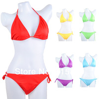 1set New 2014 Women Sexy Swimwear Push Up Bandage Swimsuit Bikini Set Bathing Suit Beach Bikinis  -- WBK17