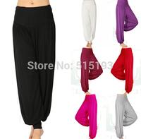 2014 New plus size palazzo pants women Bloomers Wide Leg Lounge long gaucho harem Yoga Pant  womens clothing