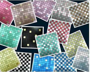 Achetez en gros adhesive metal wall tiles en ligne des grossistes adhesive - Carrelage autocollant sol ...