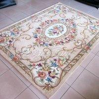 Water wash wool carpet luxury fashion pure wool carpet living room coffee table carpet y-255