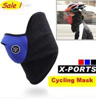 Outdoors Cycling Mask ride bike bicycle cap fleece winter warm Skiing mask half face windproof sport masks Cycling equipment