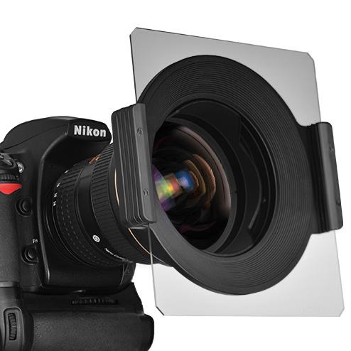 Nisi 150mm porte filtre filtre carré en aluminium aviation 14-24mm lens pour nikon livraison gratuite