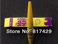 2pcs/lot wholesale 2014 new Hot selling Yellow & Black Glitter Black Liquid Eyeliner Brand Waterproof EyeLiner gel Makeup set
