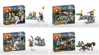Teenage mutant ninja turtles building blocks set Action figures Kids Educational Toys classic toys Compatible With Lego  T31