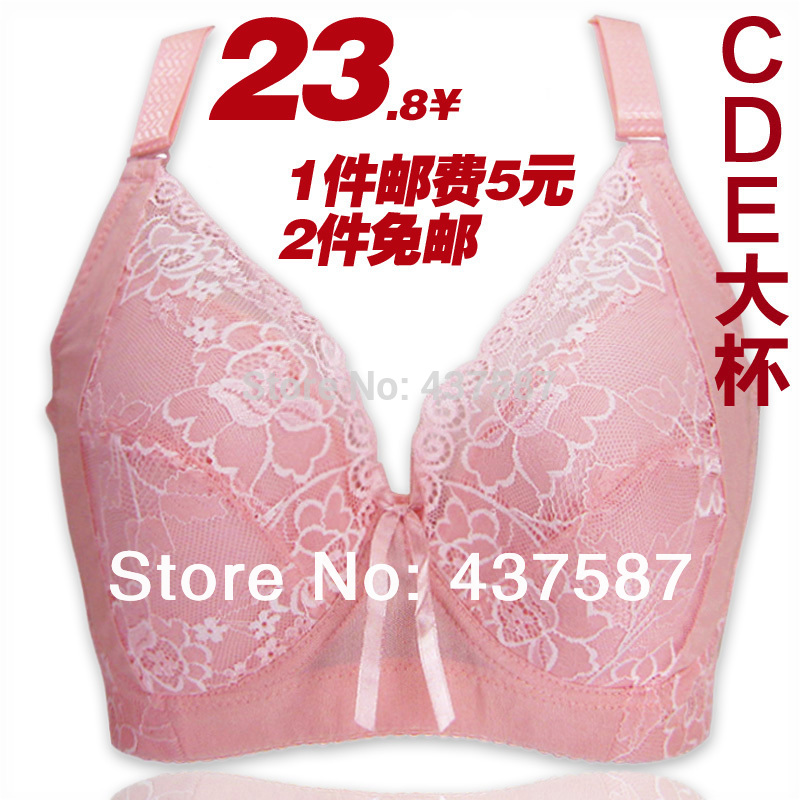 e Breast Size 36 38 40 42 44 c d e f Cup Large Big Size Bra Plus Size Full Cup Side