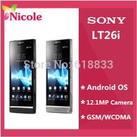 LT26 Original Sony Xperia S LT26i Cell Phone 12MP WIFI GPS Internal 32GB Unlocked Refurbished SG Post Free Shipping