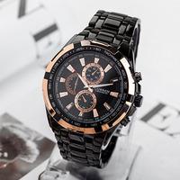 Luxury Brand Men Quartz Daily Waterproof Full Steel Military Watch Reloj Mujer Military Watch