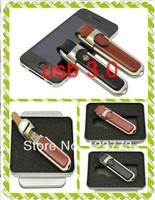 High speed 8GB 16GB 32GB 64GB 128GB usb 3.0 pendrive leather usb flash drive pen drive free shipping -style 8