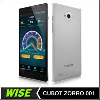 New Original Cubot ZORRO 001 Android 4.2 4G LTE Qualcomm MSM8916 Quad Core 1GB RAM 8GB ROM 1280*720 8MP 5 Inch Mobile Phone
