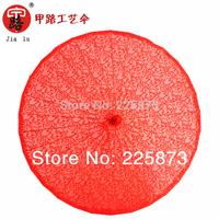 Wedding gift umbrella * * * dance lace umbrella * red transparent silk umbrella