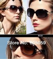 2014 NEW Brand Women Ray Polarized Large frame Band sunglasses UV protection Fashion Sun Glasses Box Pack Safe j6j uh078
