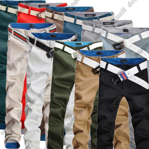 Calças NOVAS 2014 esportes atacado homens e calças dos homens de varejo primavera calças skinny casual masculino marca placa moda(China (Mainland))