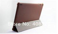 "Lenovo S6000 Case, Original 10.1"" Folding PU Leather Case For Lenovo S6000 Tablet PC,  Free Shipping"