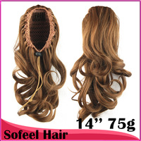 cute wavy Ponytails, Synthetic hair ponytail, Hair Extensions, 1pc
