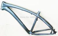 Carbon Frame MTB 26er,Size 18'',3k Glossy Finish,Disc Post Mount,For Bike Bicycle