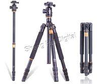 """New tripod Q-999 SLR camera tripod,professional portable digital camera tripod Q999,Max:63"""" 7D 2 5D 3 6D D7000 60D 1D IV NEX-7"""
