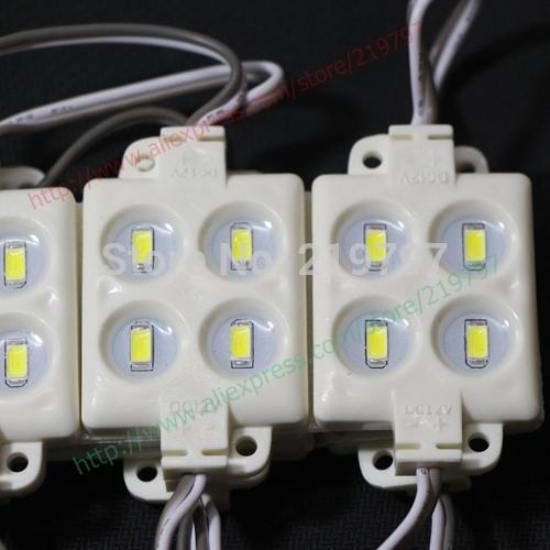 LED модуль 5730 4leds ip65 dc12v 2w литья для рекламы Совет блистер светлые слова + 20 шт + свободный корабль