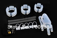 Big size Silicone cock cage Chastity Belt Male Chastity device cock Cage Sex Toys