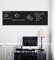 Chalkboard Chalk Board Blackboard Removable Vinyl Wall Sticker Decal Practical Blackboard kids wall decal 45cmX200cmFreeShipping