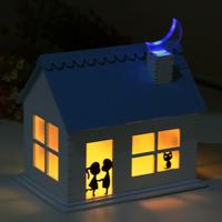 luminous  Romantic gifts wood house