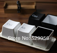 Creative Gifts keyboard Sculpt  Wine bottle , flavoring dish, small storage box,cups