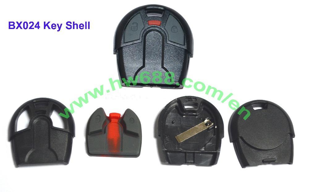 Key shell of BX024A/BX024B HOT shell Positron alarm remote key(China (Mainland))