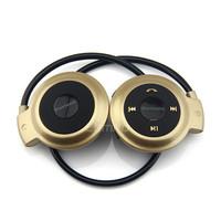 On sale Universal mini-503 Wireless Stereo Bluetooth Headphone Headset Neckband Style Earphone For iPhone Samsung Phones