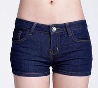 2014 New! Pattern stitching fashion denim shorts, wild Slim jeans shorts, free shipping