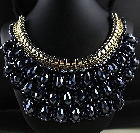 Vivi Magazine Retro False Collar Necklace Fashion Short Necklace For Women Statement Wedding Jewelry Wholesale(China (Mainland))