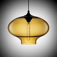 New Astrology Modern Glass Pendant Lampes with Amber Color,Indoor Light,Free Shipping,YSLNC06A