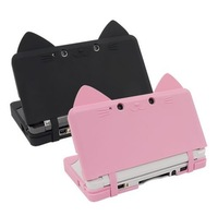 3DS  ear cat silicone case