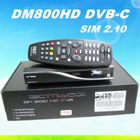 3pcs DM800hd Pro dvb-c cable Tuner REV M Version BL84 DM800hd se Satellite Receiver SIM2.01 DM800hd Pvr Free Shipping