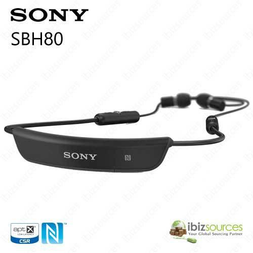 sony sbh80 bluetooth stereo headset black bluetooth 3 0. Black Bedroom Furniture Sets. Home Design Ideas
