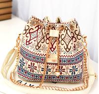 2014 Hot Canvas Bucket Bag Women Handbag Female Casual Canvas Shoulder Bag Cross- body Bags Women Messenger Bag Day Clutches