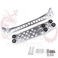 KYLIN STORE --- Function 7 Billet Lower Control Arm + Subframe Brace 96-00 For Honda Civic EK LCA
