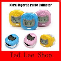 HOT Digital Finger Fingertip Pulse Oximeter for children kids LED Display Portable Handheld Pediatric Blood Oxygen SpO2 Monitor