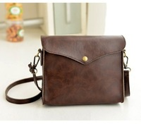Hot Selling Fashion Vintage Women's Shoulder bag Coin Purse Small Leather Envelope Bag Casual Messenger Bag Handbag Day Clutches